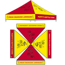 10x10 Pop Up Canopy Outdoor Instant Gazebo Tent Custom LOGO Printed Top Cover  sc 1 st  eBay & Logo Chair 10u0027 X 10u0027 Canopy Top Ohio State | eBay