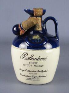 Vintage Botella Cerámica BALLANTINE'S Cerrada Modernismo Colección