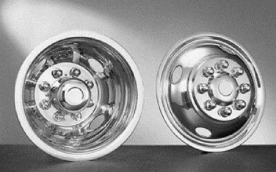 "4 fits DODGE 16/"" Dual Wheel Simulators Dually 8 Lug Rim Skins Liners Hub Covers"