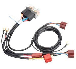 Headlight-Relay-Harness-Kit-80a-for-Nissan-Patrol-GU-TB45-TB48-TD42-ZD30-ST-L-Ti