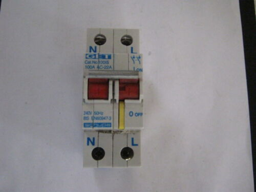 BS 60947-3 Ottieni schupa ac22a 1001S 100A MAIN SWITCH
