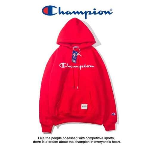 Top Men Women Embroidery Champion Hoodies Sweater Pullover Sweatshirt Sport Coat