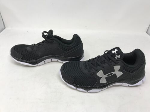 2S Engage Black Shoes Boys Under Armour 1301860-001