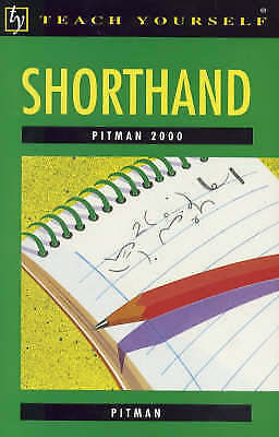 1 of 1 - Pitman 2000 Shorthand (Teach Yourself), Pitman, Very Good Book