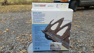 Roof De Icing Kit Gutters And Downspouts Ice Snow 30 Ft Ebay