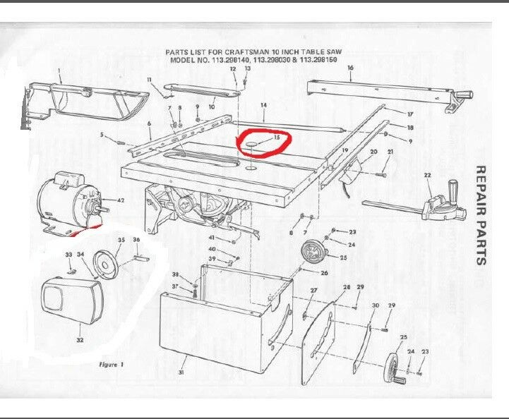 Craftsman Table Saw Best Place To Find Wiring And Datasheet Resources