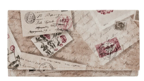 Geldbörse ALESSANDRO ROMANTIC MAXI groß Geldbeutel Börse Kunstleder Wallet WAHL