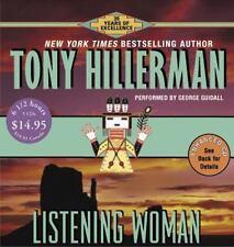 Joe Leaphorn and Jim Chee Novel: Listening Woman by Tony Hillerman (2005, CD, Unabridged)