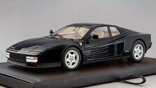 Kyosho 1:18 1989 Ferrari Testarossa, black w/ tan interior