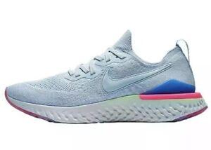 16114b2c3f3d New Nike Epic React Flyknit 2 Hydrogen Blue BQ8928 453 Men SZ 12 No ...