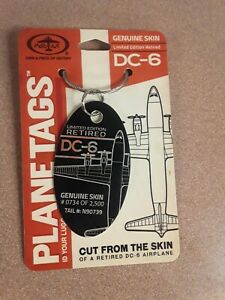 Douglas-DC-6-American-Airlines-Plane-Tag-Planetags-Free-Shipping