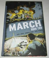 John Lewis, Andrew Aydin March Book 2 Signed Hard Cover 1st Limited Of 500