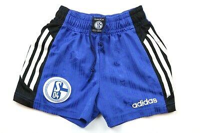 Adidas Schalke 04 Vintage Shorts Zum Trikot Gr. Ca. 140 Sporthose Kids 90er
