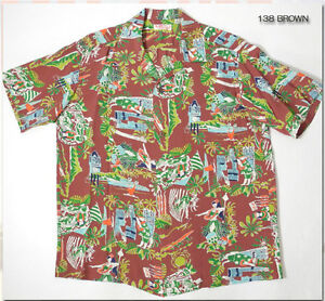 b68213b7 Image is loading SUMMER-2013-Limited-Edition-Reproduction-Hawaiian-Aloha- Shirt-