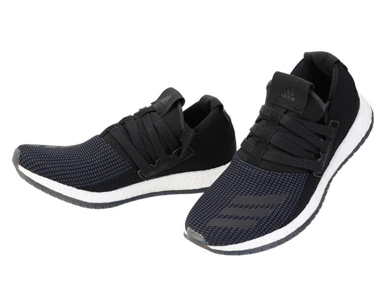 Adidas Boost crudo puro AQ3486 Zapatos Para Correr Runner Deportes Atléticos Zapatillas Negro Runner Correr 490077