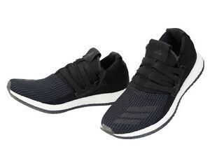 Details Shoes Black Pure Boost Running Sports Raw Sneakers Runner About Adidas Aq3486 Athletic 9IEDHW2