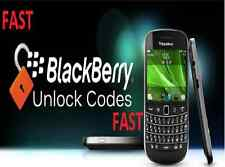 Unlock Code Service for Blackberry MTS 9360 9810 9850 9860 9900 9630 9550 only