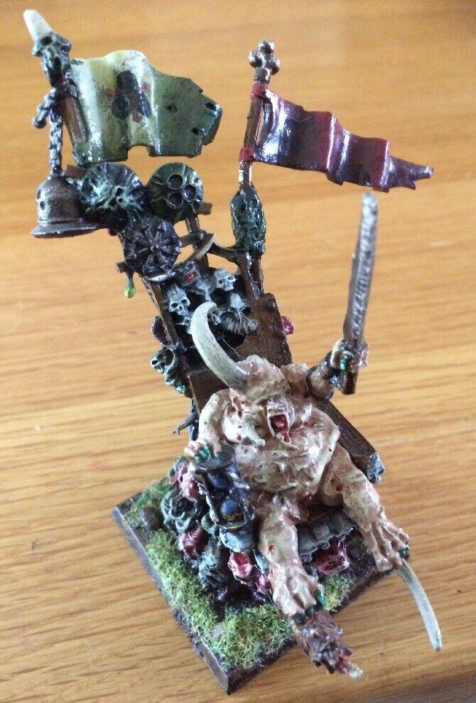 Citadel Epidemius Chaos Daemon från Nurgle Metal PRO Paint Miniatyr OOP RARE