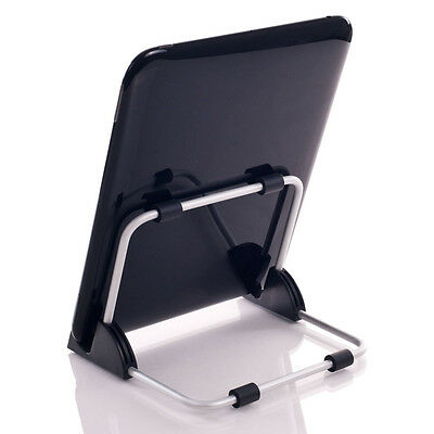 New Universal Support Tablet ipad PC Foldable Adjustable Aluminum Holder Stand
