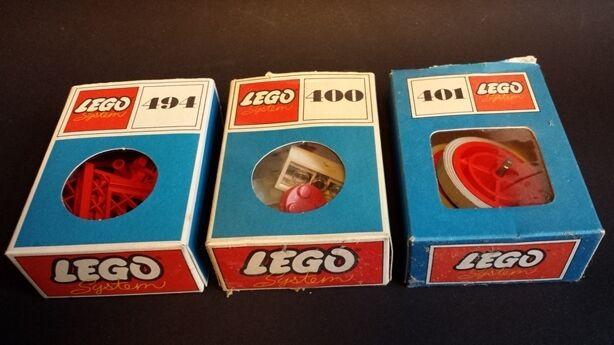 LEGO 400 401 494 fantastico condizioni con imballo originale