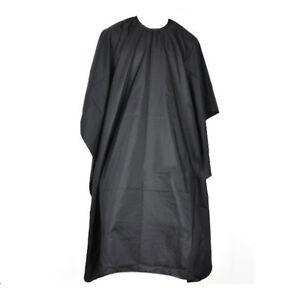 Friseurumhang-Haarschneideumhang-Frisoerumhang-Friseur-Umhang-schwarz-120-85cm
