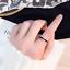Anello-Uomo-Donna-Acciaio-Inox-Argento-Oro-Fedine-Fedina-Fidanzamento-Fascia miniatura 2