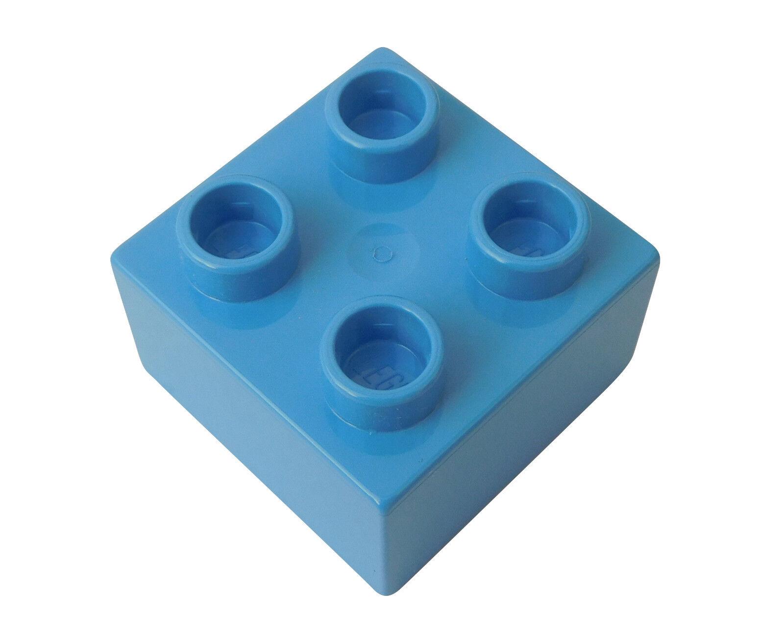 3003 Lego 50 Piece Stone 2x2 in Blue New Blue Bricks Brick Block Basics