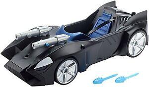 Mattel-DC-Justice-League-Doppelblaster-Batmobil-Kinderspiele-Spielzeug-NEU