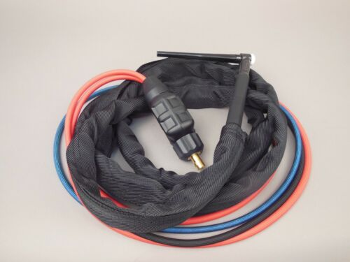 12/' HTP WP20F Flex Neck Water Cooled Tig Torch compatible with Lincoln 200 225