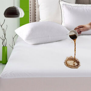 Mattress-Cover-Waterproof-Bed-Bedding-Sheet-Protector-Fitted-Deep-Pad-Soft