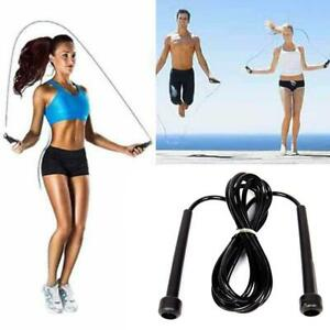 Skipping-Rope-Nylon-Adjustable-Jump-Boxing-Fitness-Speed-Rope-Training-New-Top