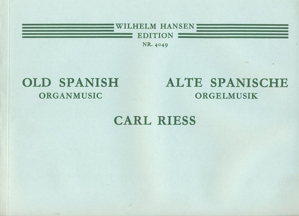 2 stk. Orgelnoder, Italienske & Spanske