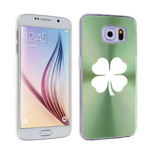 For-Samsung-Galaxy-S7-S4-S5-S6-Edge-Hard-Case-Cover-4-Leaf-Clover-Shamrock