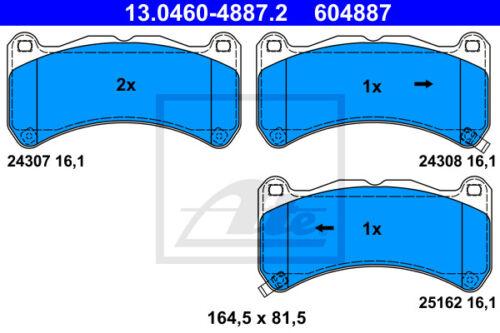 /_E2/_ 13.0460-4887.2 für LEXUS IS II ATE Bremsbelagsatz Vorderachse VA