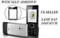 Sony Ericsson J10 J10i2 ELM Black Glass  Screen Lens
