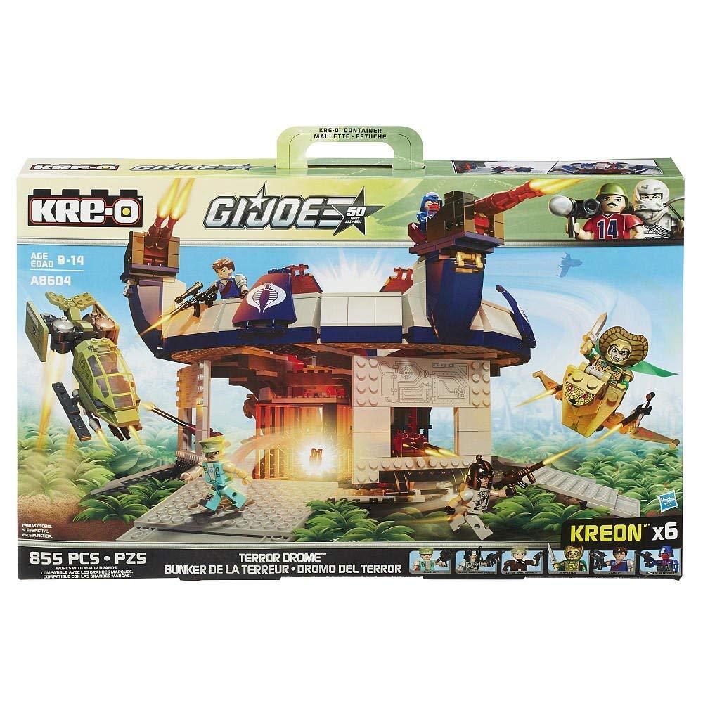 KRE-O GI Joe Kreo Set A8604 Cobra Terror Drome NIP VHTF Serpentor Xamot 855 pcs