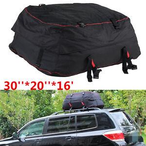 Roof Top Cargo Bag Waterproof Carrier Storage Luggage Car