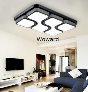 led deckenlampen decken leuchte 24w 36w 54w 72w 96w 126w. Black Bedroom Furniture Sets. Home Design Ideas