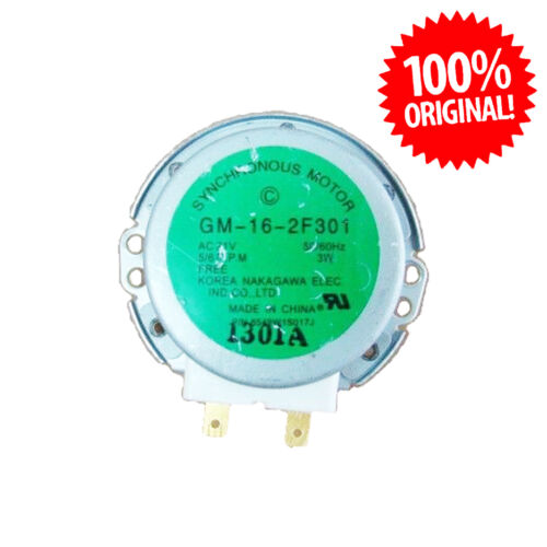 6549W1S017J GM-16-2F301 Motor LG Microondas Microwave 21V 180mA 3W 50//60HZ 2P