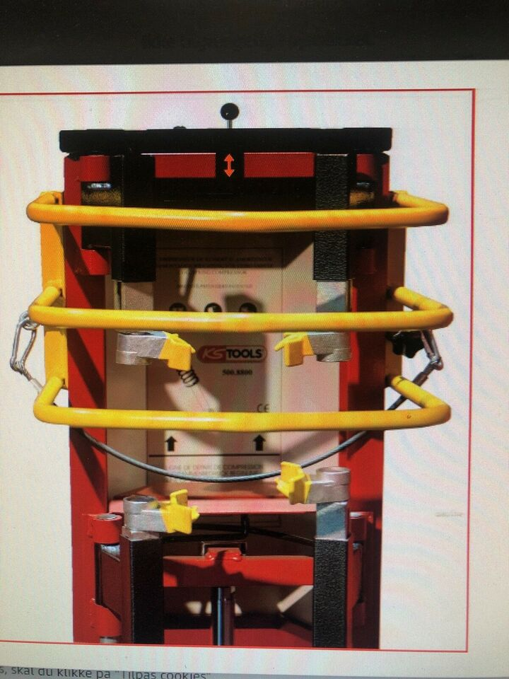Trykluft fjeder kompressor, Ks Tools