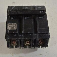 GE THQB32020 Molded CASE Circuit Breaker 3P 20A 240V-AC