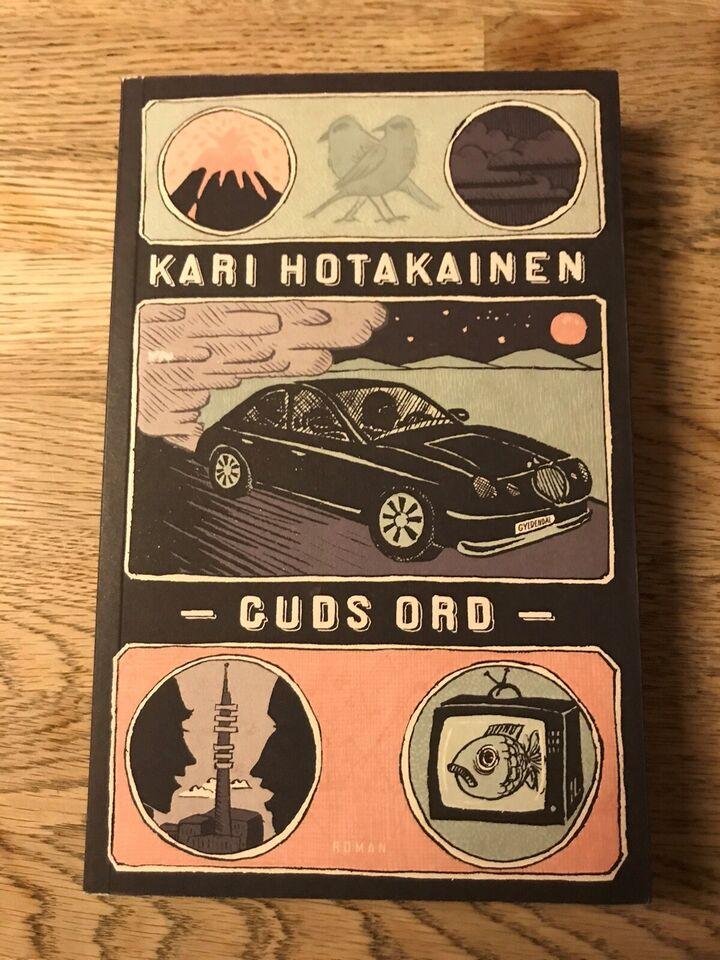 Guds ord, Kari Hotakainen , genre: roman