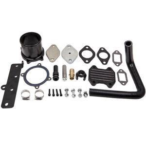 EGR Cooler /& Throttle Valve Delete Kit For 2013-18 Dodge Ram 6.7L Cummins Diesel