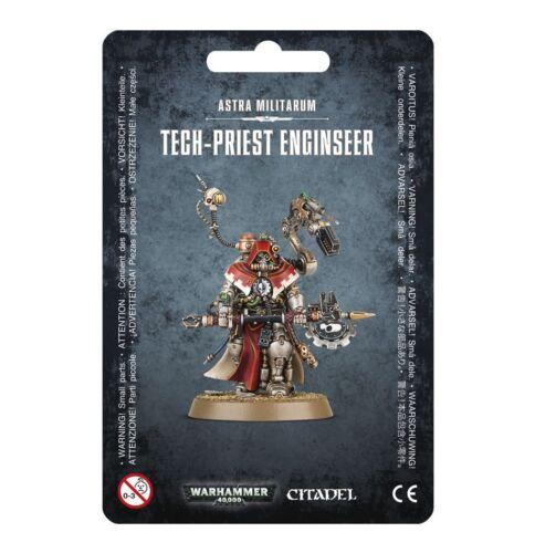 Astra Militarum Tech-Priest Enginseer Warhammer 40K Engineer NIB