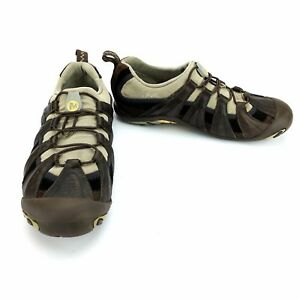 Merrell-Caper-Dune-Dark-Earth-Brown-Women-039-s-Athletic-Shoes-Sneaker-Size-7-GUC