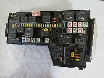 ✅ 2008 08 dodge dakota truck tipm power integrated control module fuse box  combo | ebay  ebay