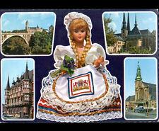 LUXEMBOURG (LUXEMBOURG) MONUMENTS & POUPEE TOURISTIQUE , souvenir en 1973