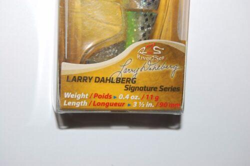 "River 2sea Bass Leurre Larry Dahlberg Whopper Plopper 90 t1000 3 1//2/"" .4 Oz environ 11.34 g"