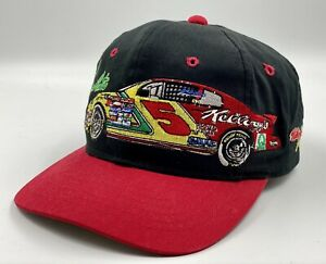 Vtg Terry Labonte #5 Youth Ball Cap Hat Kellog's Chase Snapback NASCAR Racing