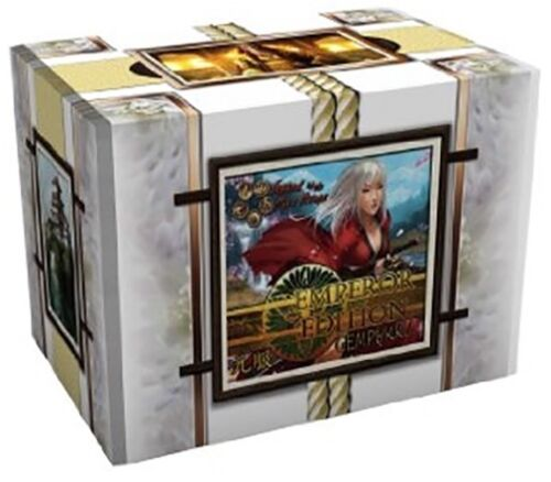 AEG L5R LEGEND OF THE FIVE RINGS EMPEROR EDITION GEMPUKKU BOOSTER BOX X 5